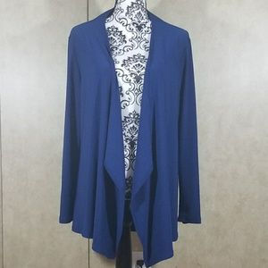 Royal blue shrug cardigan